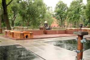 Скульптурная группа «Мини-город»