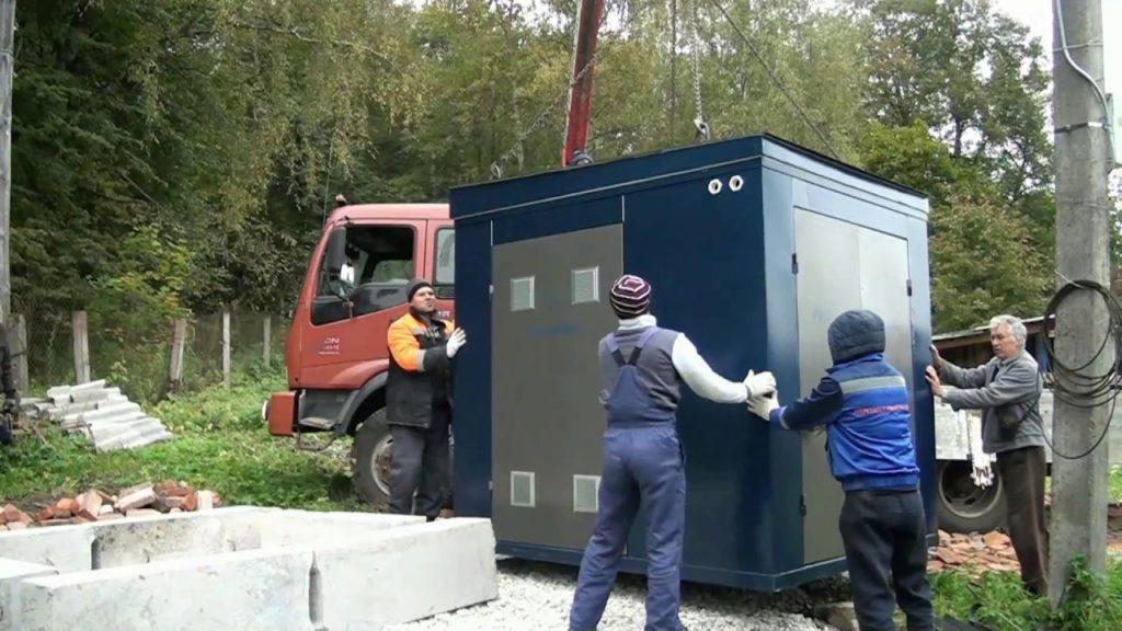 Установка и монтаж КТП