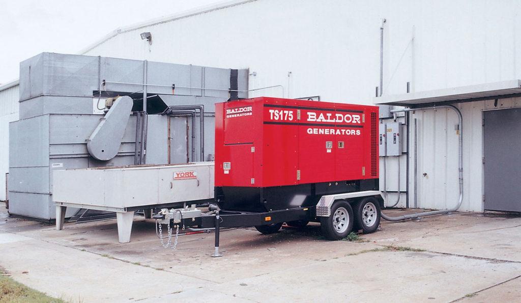 трехфазный дизель-генератор