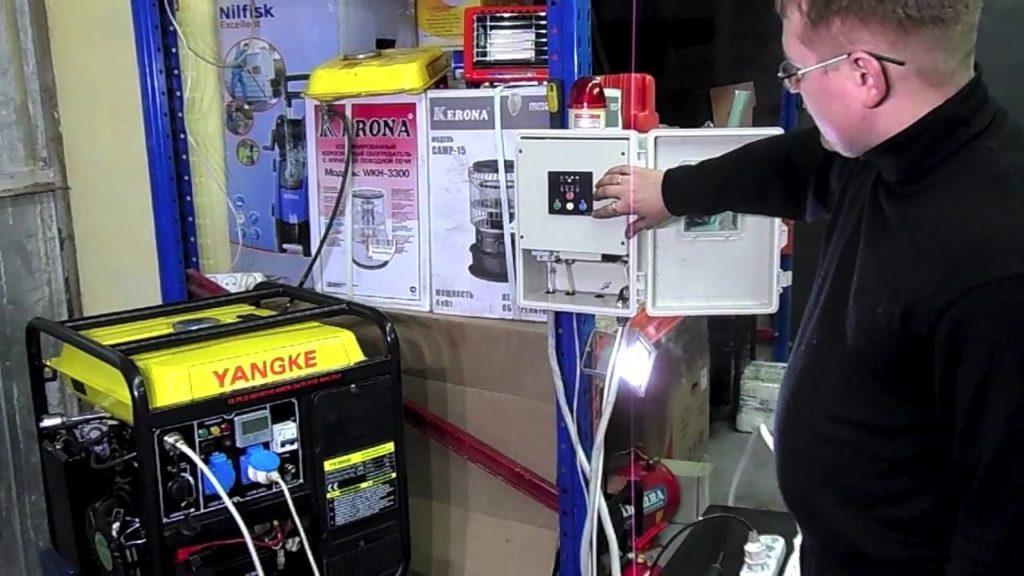 Как запустить дизель-генератор